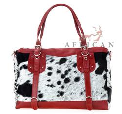 Bag, vegtan and cowhide