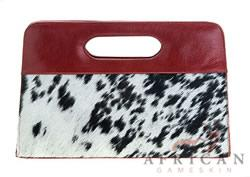 Dayclutch leather and cowhide