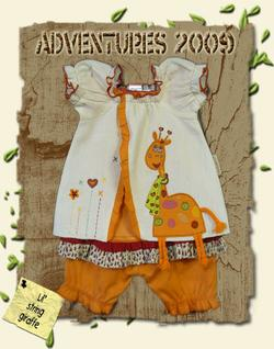 Giraffe Bloomer Set