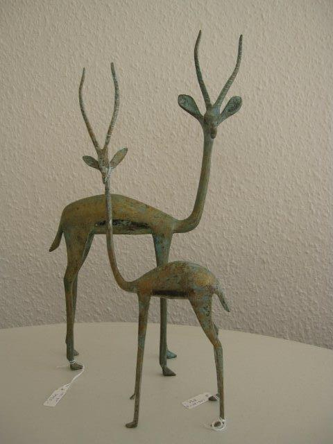 Bronze sculpture - impala
