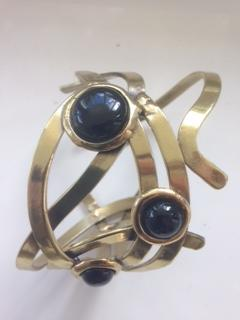 African bangle 12 with oryx