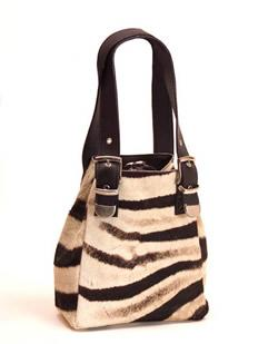 zebra bag - genuine