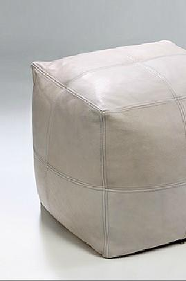 floor cushion - leather