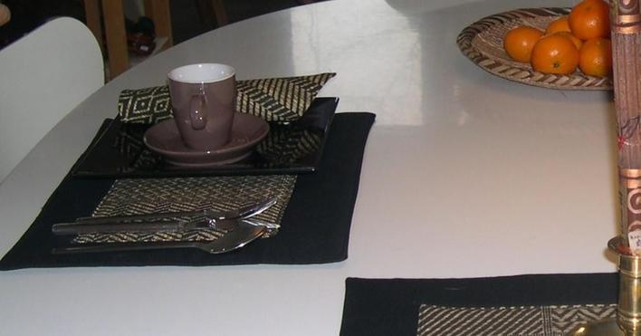 Napkins and tablemats-Swahilidesign