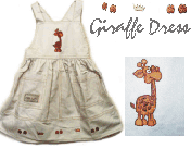 Giraffe dress -spencer
