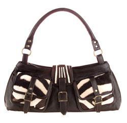 Exclusive fashion zebra bag. Burchell. Fiona design 61dcd34883862